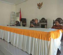 Hari Pertama Kerja, Ketua PA Sambas adakan Perkenalan dan Pembinaan Singkat