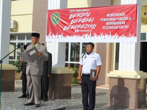 Ketua PA Sambas Pimpin Peringatan Hari Lahir Pancasila