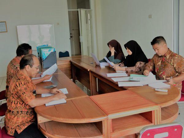 Sekretaris Pimpin Rapat Koordinasi Kesekretariatan