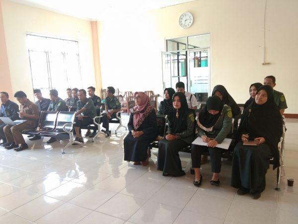 Rapat Koordinasi Pembangunan Zona Integritas