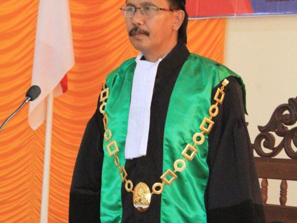 Estafet Kepemimpinan; Ahmad Juaeni Resmi Jabat Ketua PA Sambas