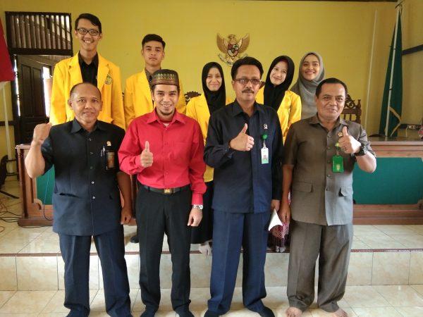 Gali Pengalaman Kerja, Mahasiswa IAIS Sultan Muh. Syafiuddin Magang di PA Sambas