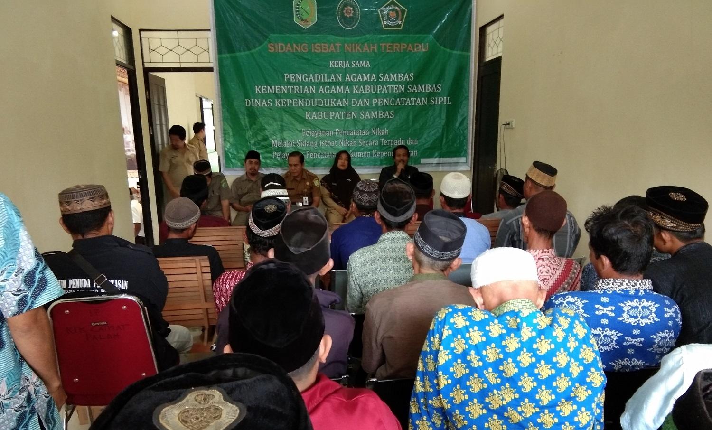 53 Perkara Isbat Nikah Berhasil di Sidangkan di Kecamatan Paloh
