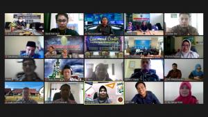 PTA Pontianak Lakukan Pendampingan Penyusunan RKBMN Via Virtual Meeting