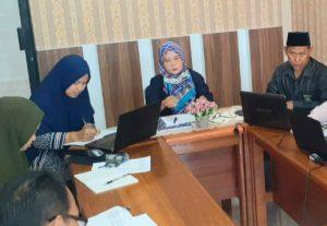Bagian Kesekretariatan Gelar Rapat Koordinasi Bersama Wakil Ketua PA Sambas
