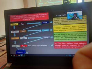 Diinisiasi PTA Pontianak, Penjelasan Pembuatan PKP Via Zoom Meeting Menghadirkan Biro Renog MA