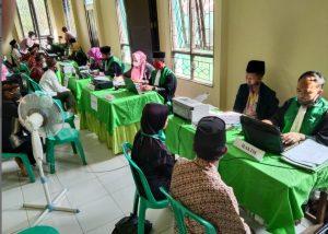 Sidang Terpadu; PA Sambas Berhasil Sidangkan 33 Perkara Itsbat Nikah di Kecamatan Paloh